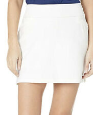 Nwt adidas Women's Golf Ultimate Woven Skort White Size S/Long