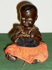 Antique Cellba Puppe Baby Cellbapuppe farbige Babypuppe Puppenbaby Dolls 24