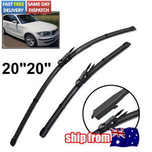 """Windscreen Wipers For BMW 1 series 2004 - 2012 (E87 E88 E82 E81) 2x20""""/500mm"""