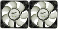 2 x Gelid Solutions Silent 5 50mm silenziosa Case Fan 4000 RPM, 12,9 CFM, 23 DBA