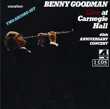 Benny Goodman LIVE AT CARNEGIE HALL – 40TH ANNIVERSARY CONCERT - CDLK4355
