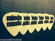 MindaMusic GLOW IN THE DARK GUITAR PICKS- Heavy Gauge 12 pack FREE SHIPPING