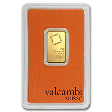 10 gram Gold Bar - Valcambi (In Assay) - SKU #77423