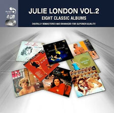 Julie London EIGHT (8) CLASSIC ALBUMS VOL 2 Sophisticated Lady AT HOME New 4 CD