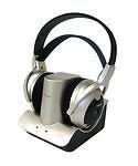 Wintal RF900 Over the Ear Wireless Headphones - Black/Silver