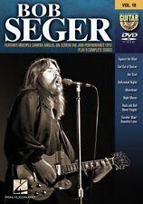 Bob Seger Guitar Play-Along DVD NEW 000320872