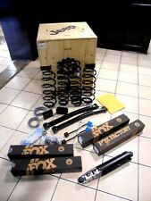 18 Jeep Wrangler JL New 2 Inch Lift Kit Fox Racing Shocks 4 Door 3.6L Mopar OEM