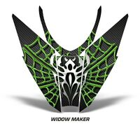 Sled Hood Graphics Kit Decal Wrap For Arctic Cat Pro Climb Cross 12-16 WIDOW G K