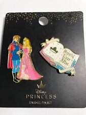 Loungefly Disney Sleeping Beauty Happily Ever After 2 Piece Enamel Pin Set