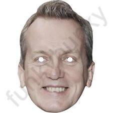 Frank Skinner Celebrity Comedian, Writer Card Mask All Our Masks Are Pre-Cut ***