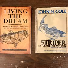 Striped Bass Fishing Books: Living The Dream (signed By Author), Striper