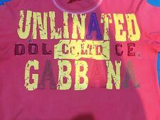 Authentic Dolce & Gabbana D&G Men's T-Shirt Size L