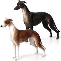 20cm Simulation Greyhound Animal PVC Model Action Figure Figurine Kids Toy Surpr