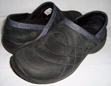 Merrell Encore Quilt Black Loafers 8 Slip On Walking Shoes Quilted