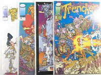 TRENCHER Vol.1 # 1,2,3,4 von 4 kpl. ( Image, US Comic )