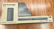 LG SL3D 2.1 Channel 300W Sound Bar with Wireless Subwoofer and Bluetooth NEW