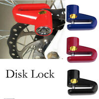 Heavy Duty Motorbike Bike Scooter Motorcycle Security Disc Brake Lock + 2 Keys