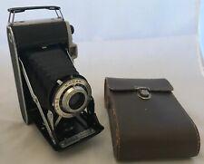 Nice Vintage Kodak Junior II 620 Film Camera 1950s VGC & Case & Instructions