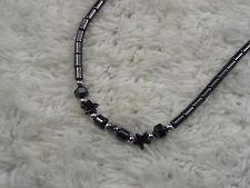 Hemetite Star Bead Necklace (A48)