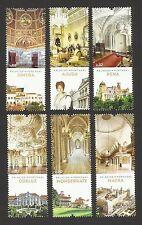 Portugal 2012 - Portuguese Palaces set MNH