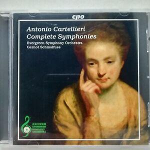 Cartellieri, Antonio: Complete Symphonies / Schmalfuss / CPO CD 777 667-2