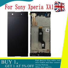 For Sony Xperia XA1 G3121 G3112 G3125  LCD Touch Screen Digitizer Black Frame