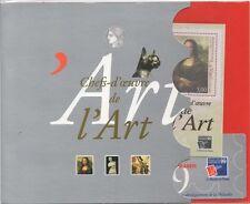 """France 1999 """"Mona Lisa""""/da Vinci/Art/Artists/StampEx 3v m/s + ticket Pack n45410"""