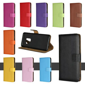 Luxury Leather Case For Samsung S3 S4 S5 S6 S7 S8 S9 S10 Plus Flip Wallet Cover