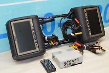 06-11 MERCEDES R320 R350 R500 HEADREST MONITOR / DVD PLAYER & REMOTE VISUALOGIC