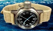 U.S.N. BU. of SHIPS CANTEEN NAVY COMBAT MILITARY WRIST WATCH. Model WR 16155