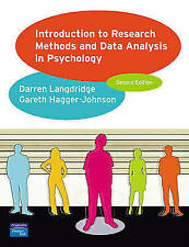 Introduction to Research Methods and Data Analysis in Psychology, Acceptable, Ha