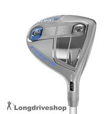 King Cobra F6 Womens Holz FWY 5-6 SILVER / BLUE *NEW* +LINKSHAND+