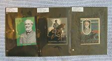 Vintage John Hancock Life Robert E Lee Stonewall Jackson booklets lot of 3