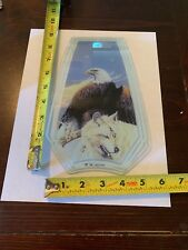 Touch Lamp Replacement Glass Panel Eagle And Wolf