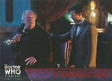 "Doctor Who Timeless: No 76 ""A Christmas Carol"" Red Parallel Base Card #22/25"