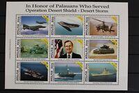 Palau, MiNr. 464-472, Kleinbogen, Schiff, postfrisch / MNH - 632384