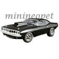 ACME A1806110 1971 PLYMOUTH DRAG BARRACUDA 1/18 DIECAST MODEL CAR GLOSS BLACK