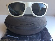 Arnette Venkman 443/87 Sunglasses - White w Grey - BNWT
