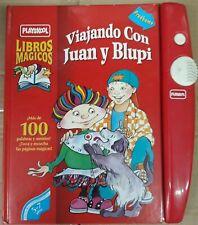 viajando con juan y blupi libros magicos playskool