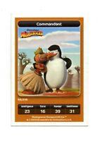 Carte Carrefour Dreamworks n° 69/216 - Commandant - Série Madagascar (A3767)