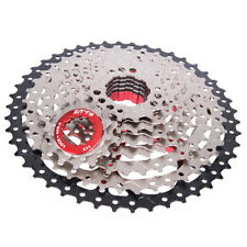 Bike Steel Cassette Freewheel 9 Speed ​​11-46T Denti Volano Parti