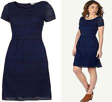 Fat Face Knee Length Cotton Blend Casual Dresses for Women