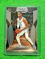 PJ WASHINGTON JR SILVER CHROME ROOKIE CARD HORNETS RC 2019 PRIZM DRAFT PICKS RC