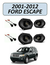 NEW for FORD ESCAPE 2001-2012 Factory Speakers Replacement Kit, KENWOOD