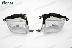 1Pair Front Clear Bumper Fog Light Lamps L+R for Suzuki Forenza 2004-2008