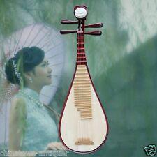 Liuqin - Chinese Soprano Pipa Lute Guitar Handmade Musical Instrument #4170