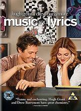 DVD:MUSIC AND LYRICS - NEW Region 2 UK