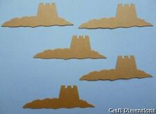 EXCLUSIVE SANDCASTLE DIE CUTS FOR SEASIDE BEACH THEMED CARD TOPPERS