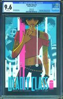 Deadly Class 1 (Marvel) CGC 9.6 White Pages Rick Remender story Craig Variant