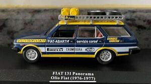 Vehicules Assistance Rallye 1/43 FIAT 131 PANORAMA OLIO FIAT(1977)LIVRET